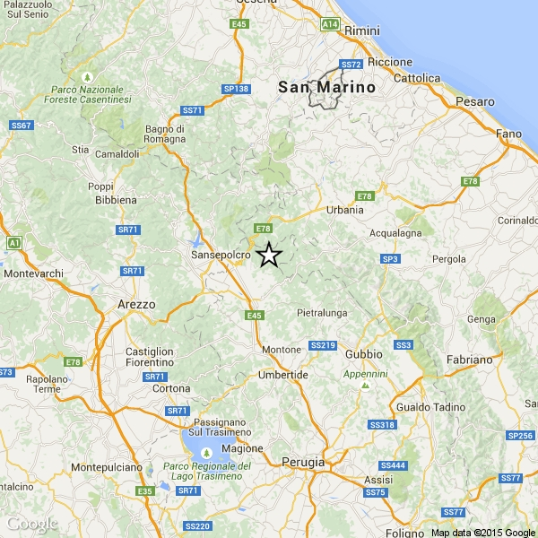 Photo of Terremoto – Serie di scosse telluriche stanno interessando l'Alta Val Tiberina. Nessun danno