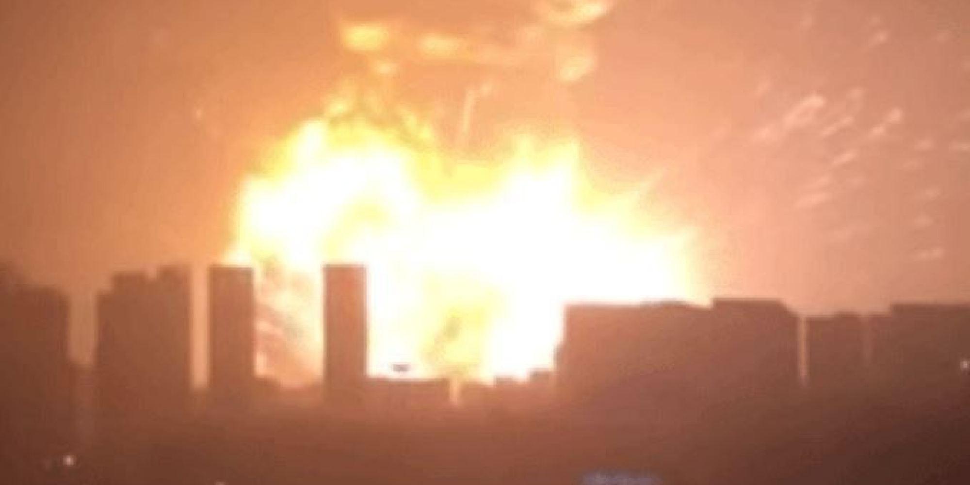 Photo of Cina – Si contano già 44 vittime, fra cui 12 pompieri, per l'esplosione del deposito a Tianjin