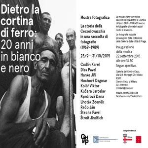 """Photo of Mostra di fotografie: """"Dietro la Cortina di Ferro, la Cecoslovacchia tra il 1969 e il 1989"""