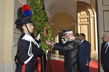 Photo of Il Comandante dei  Carabinieri commemora il 72° anniversario della difesa di Roma