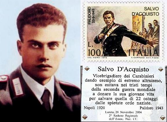 Photo of Salvo D'Acquisto. Servo di Dio ed Eroe dei Carabinieri. Altri, eroi?