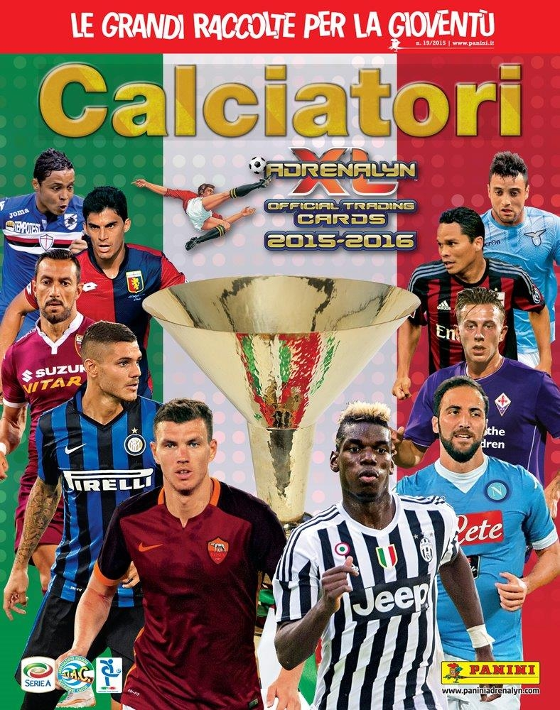"Photo of Panini: in edicola ""Calciatori Adrenalyn XL 2015-2016"""