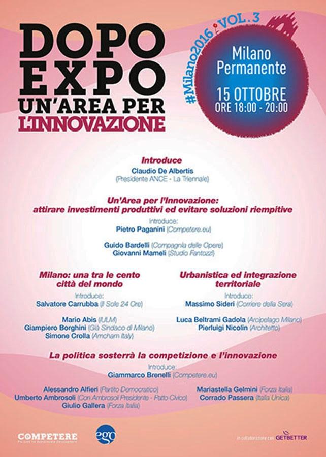Photo of Expo': nel suo futuro un'area per l'innovazione?