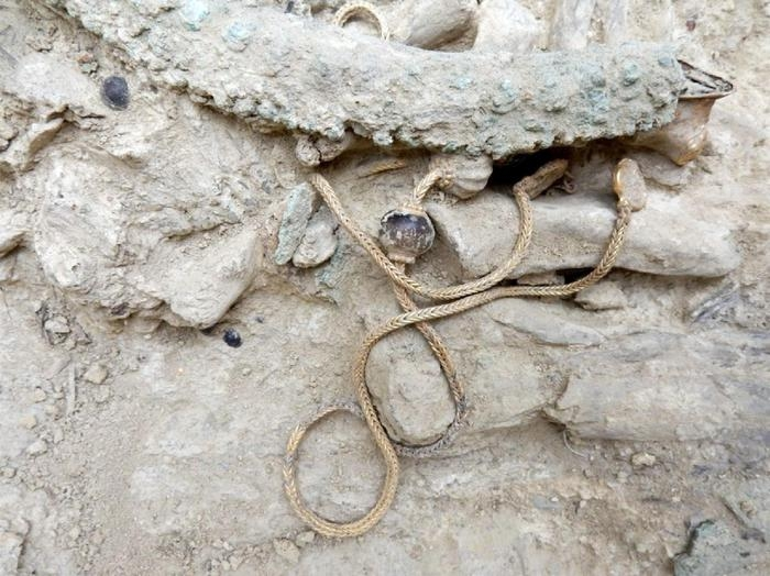 """Photo of Scoperta tomba """"reale"""" a Pylos"""