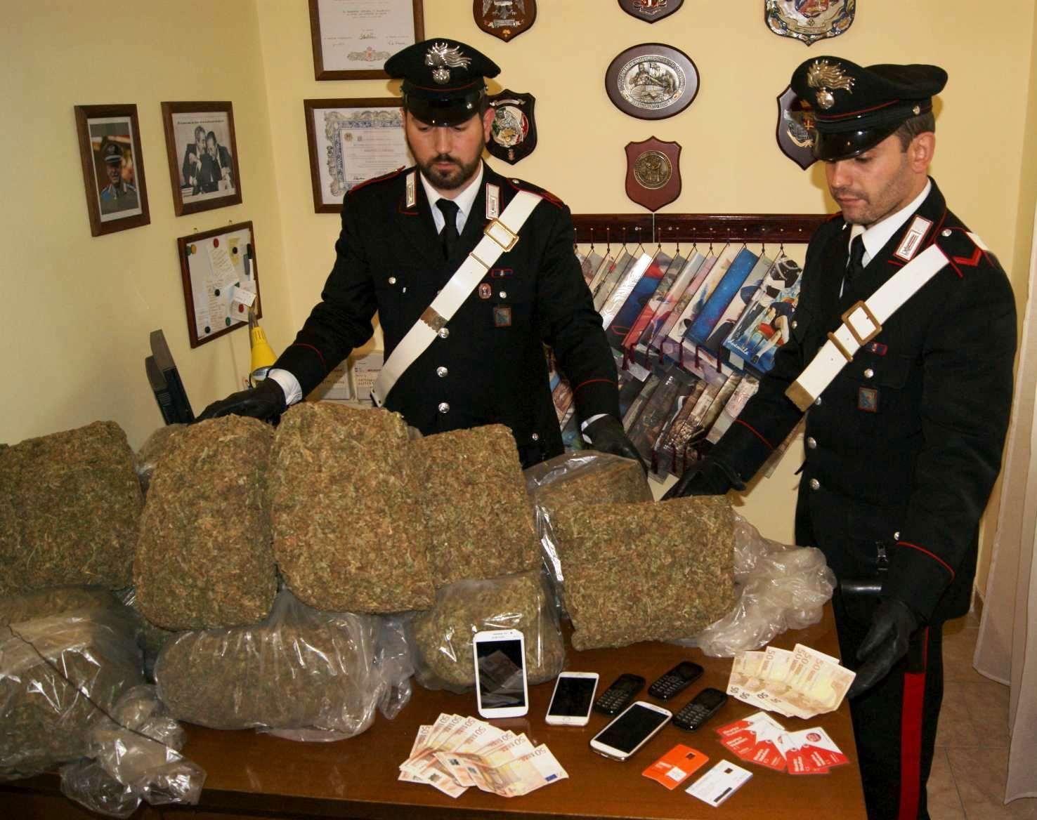 Photo of Albanese trafficante in trasferta arrestato dopo inseguimento. 40 kg di droga sequestrata