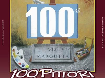 """Photo of """"Cento volte cento"""": in Via Margutta, dal 29 ottobre, la 100esima edizione dei Cento pittori"""