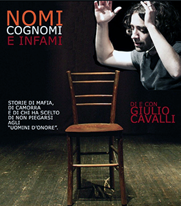 Photo of Giulio Cavalli, un attore di teatro sotto scorta
