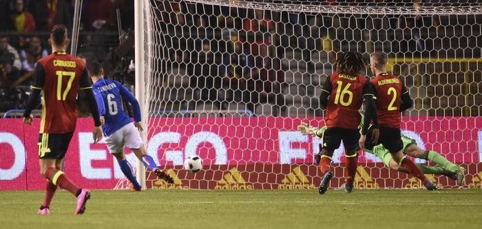 Photo of Calcio –  Amichevole Belgio batte Italia 3-1