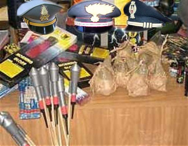 Photo of Continua l'offensiva delle Forze dell'Ordine contro i botti di capodanno
