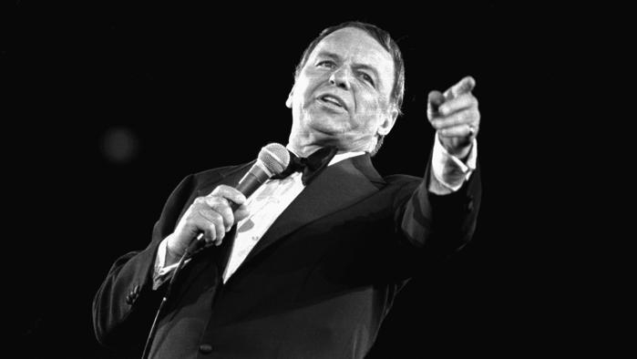 "Photo of Frank Sinatra, semplicemente…..""The Voice"" – MY WAY"