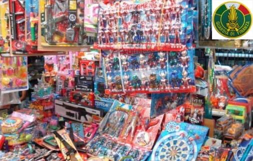 Photo of Roma. Sottratti al mercato oltre 400.000 pezzi giocattoli contraffatti e addobbi natalizi pericolosi