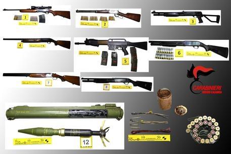 Photo of 'Ndrangheta – Trovato arsenale cosche, anche bazooka