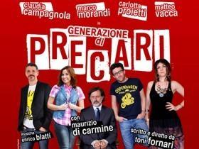 """Photo of Teatro Golden – """"Generazione di precari"""", autore e regista Toni Fornari."""