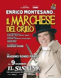 Photo of Teatro Il Sistina – Enrico Montesano è II Marchese del Grillo