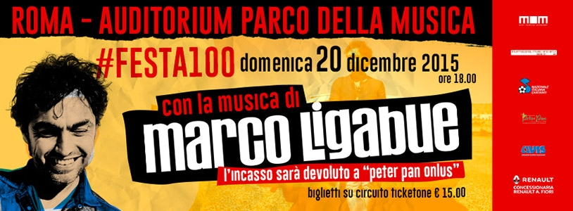 Photo of Marco Ligabue per la 'Peter Pan Onlus' in concerto il 20 dicembre