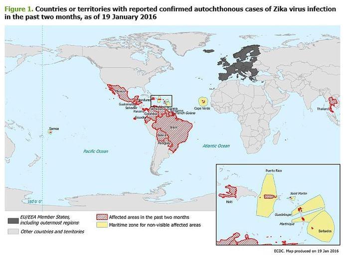 Photo of Approda in Gran Bretagna il Virus Zika. 3 viaggiatori infettati