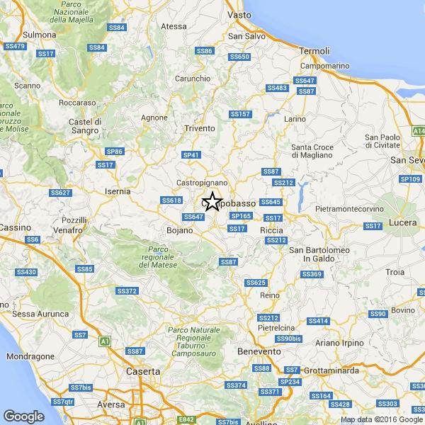 Photo of Sciame sismico in Provincia di Campobasso. Scossa di magnitudo 4.1 . Nessun danno