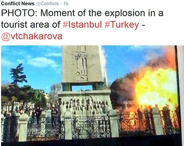 Photo of Flash – Istanbul – Ennesima strage Isis tra i turisti: 10 morti, 8 sono tedeschi