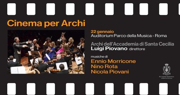 Photo of Accademia di Santa Cecilia – Piovani, Rota e Morricone  diretti da Luigi Piovano