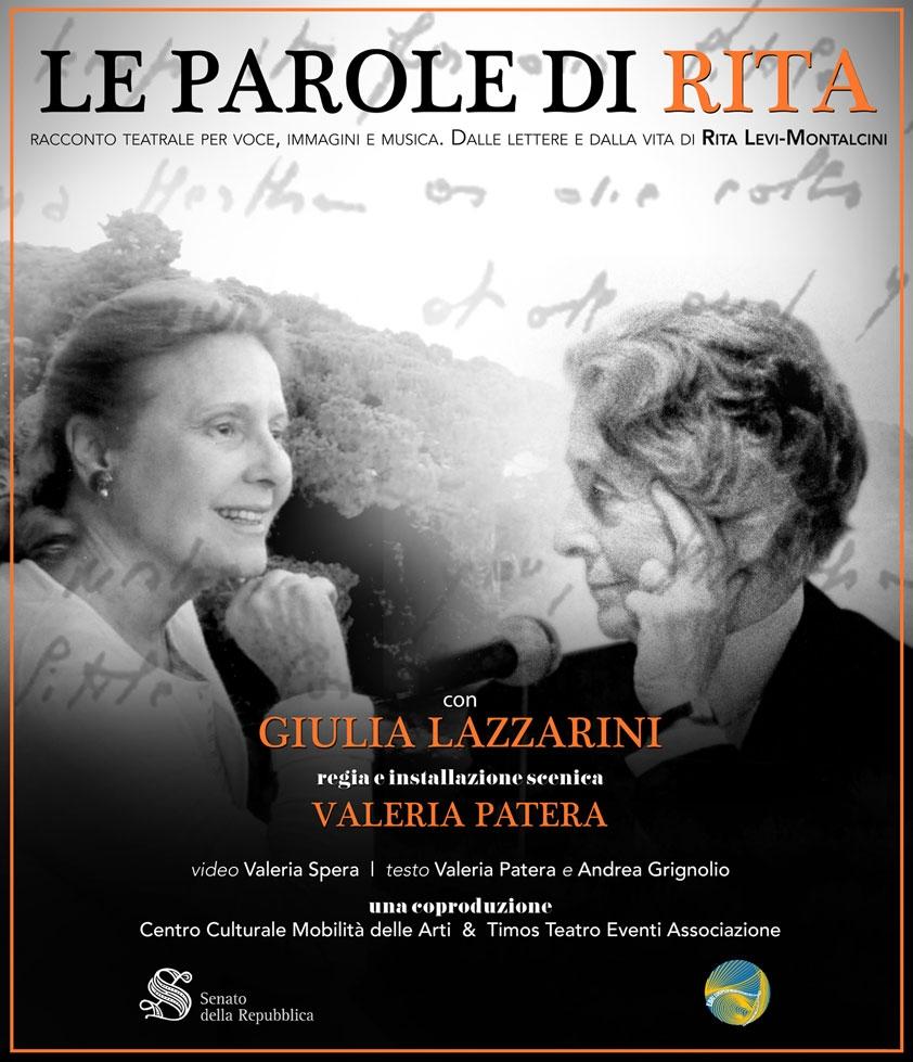 """Photo of Teatro India  – """"Le Parole di Rita"""" con Giulia Lazzarini"""