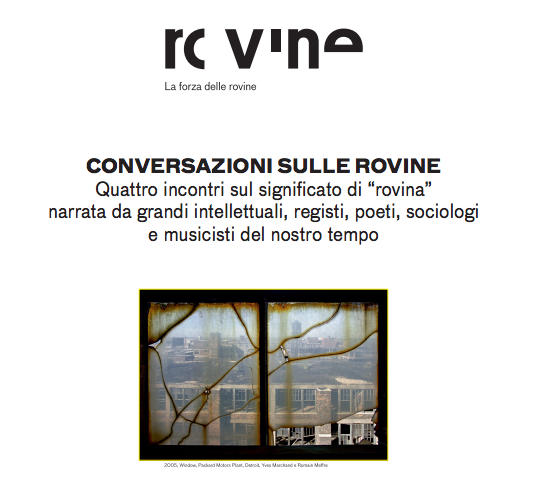 """Photo of Teatro Argentina – Canfora, Marramao e Pappano dibattono """"Conversazioni sulle rovine"""""""