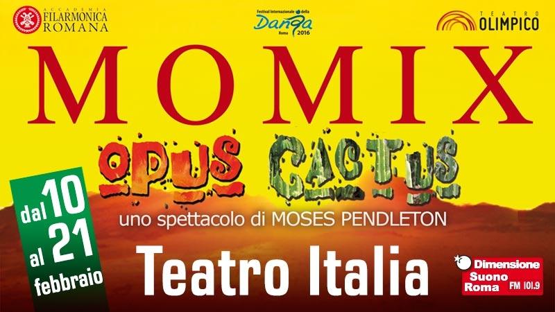 Photo of Accademia Filarmonica Romana – I Momix con Opus Cactus si esibiscono al Teatro Italia