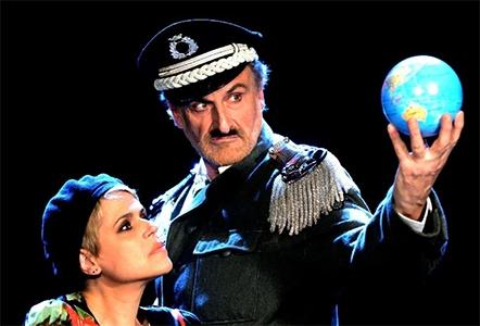 """Photo of Teatro Eliseo  – """"Il Grande Dittatore"""" con Tosca e  Massimo Venturiello"""
