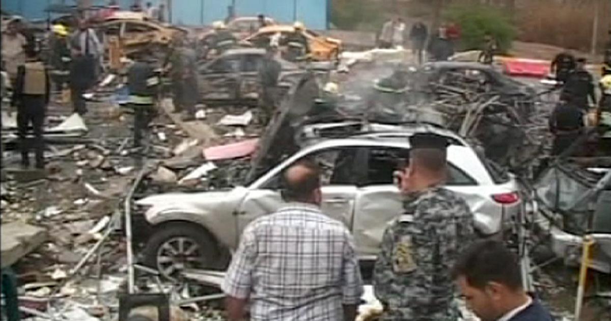 Photo of Iraq – Attacco suicida dell'Isis provoca a Hillah  47 morti e decine  di feriti