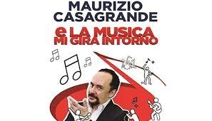 """Photo of Teatro Golden – """"E la musica mi gira intorno"""" con Maurizio Casagrande"""