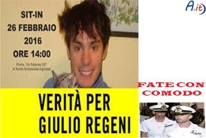Photo of Caso Regeni: compare la dignità dell'Italia calpestata. E per i Marò, invece?