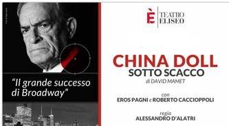 Photo of Teatro Eliseo – China Doll con Eros Pagni
