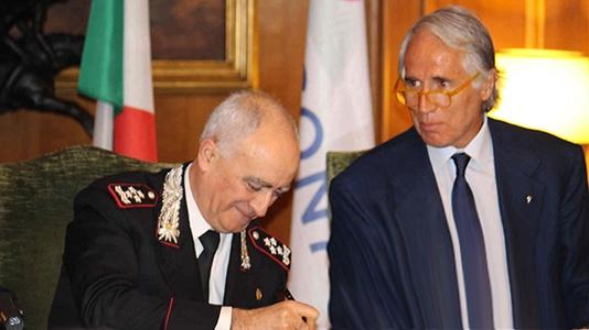 Photo of Carabinieri e CONI – sottoscritto accordo per la promozione della cultura sportiva – GALLERIA FOTOGRAFICA