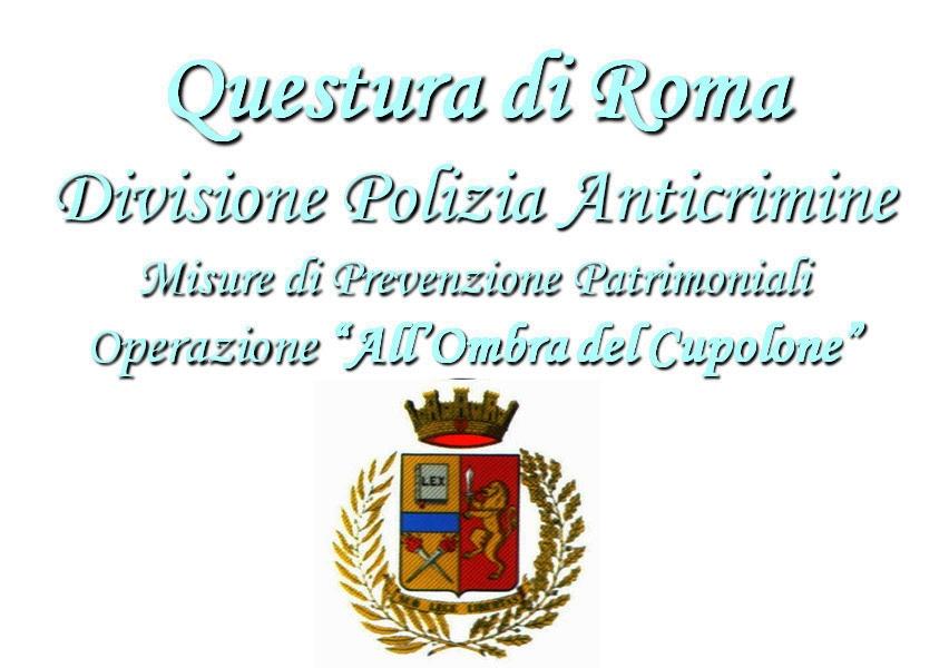 """Photo of Roma. Operazione """"All'ombra del Cupolone"""". Sequestrati beni per 25 milioni di euro"""