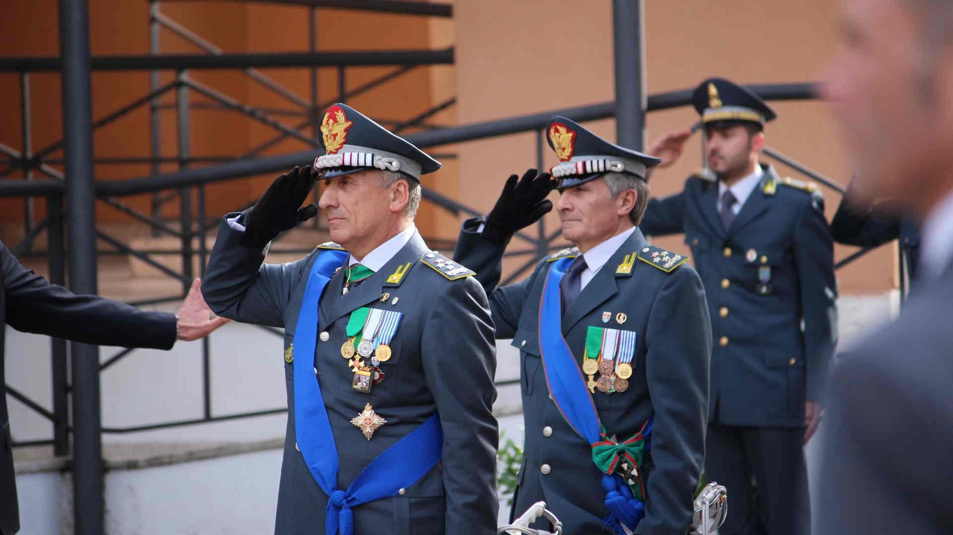 Photo of Il Generale C.A. Giorgio Toschi ha assunto il comando della Guardia di Finanza- GALLERIA FOTOGRAFICA
