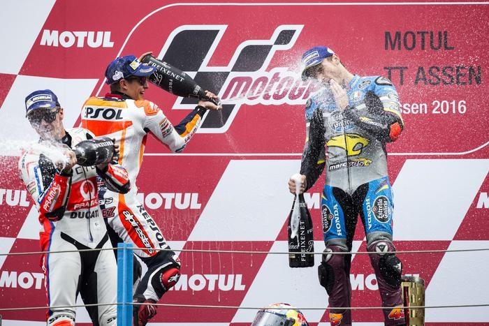 Photo of MotoGp Olanda:  Nella pioggia battente, vince Jack Miller su Honda, davanti a Marquez (Honda) e Redding, su Ducati