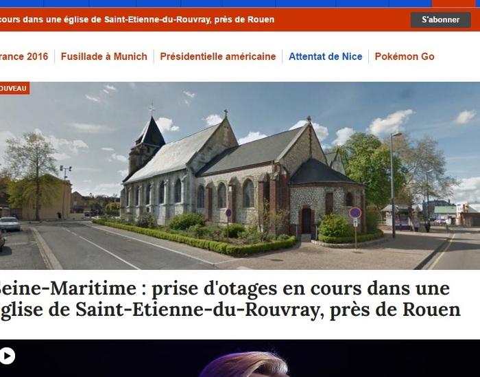 Photo of FLASH-NEWS – Ancora sangue in Francia. Prete sgozzato in chiesa da  2 uomini armati di coltello.  Seconda vittima in gravissime condizioni. Ormai i terroristi hanno imparato la lezione: TUTTI SQUILIBRATI