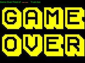 Photo of Game over?