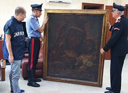 Photo of Avellino – Recuperano tela del 1600 rubata undici anni fa. Una persona denunciata