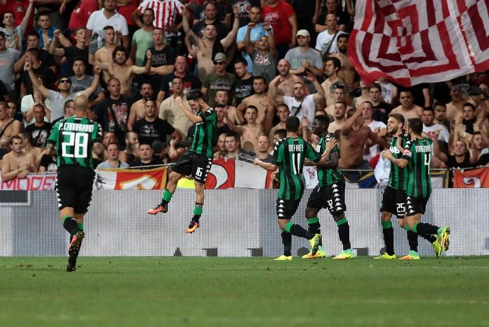 Photo of Europa League – Il Sassuolo travolge la  Stella Rossa Belgrado 3-0