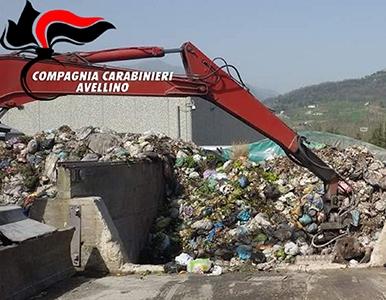 Photo of Nell'avellinese, due persone denunciate per la gestione di rifiuti