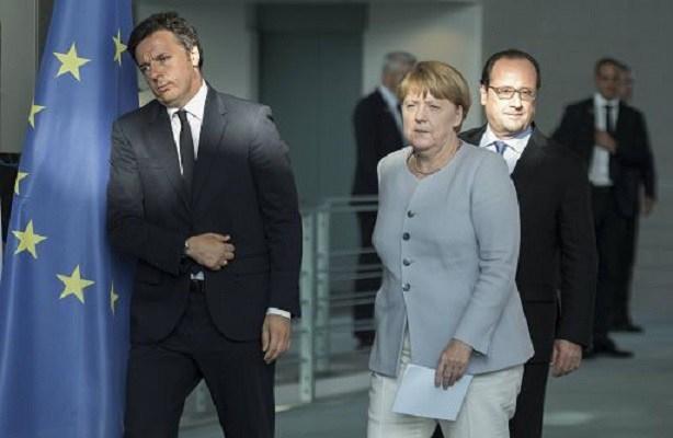 Photo of News – Ue – La vendetta: vertice Juncker-Merkel-Hollande senza Renzi. Ci piace vincere facile…