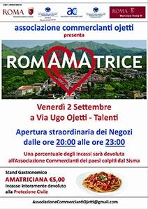 Photo of Terremoto: l'Amatriciana è il filo che unisce  i commercianti di Roma-Talenti a quelli  della Provincia di Rieti, colpiti dal sisma