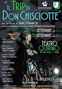 Photo of Teatro Quirino – Il trip di Don Chisciotte