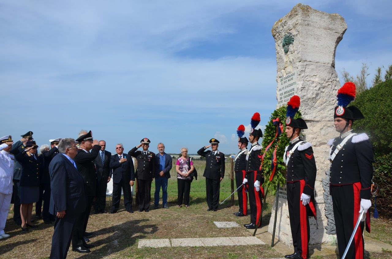 Photo of Torre di Palidoro – Ricordato il sacrificio del Vice Brigadiere M.O..V.M. Salvo D'Acquisto