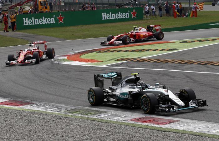 Photo of GPF1 Italia  – A Monza, ancora doppietta Mercedes e Vettel terzo