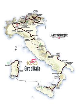 Photo of Ciclismo: Presentazione Giro d'Italia nr. 100