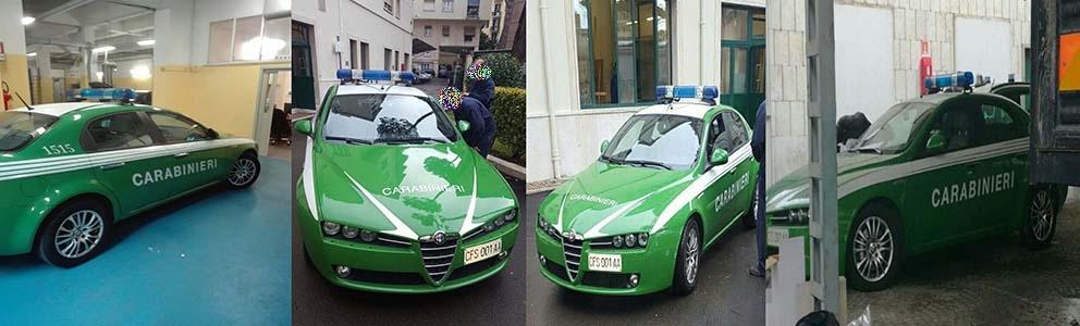 Photo of Carabinieri: Sui mezzi incorporati dalla Forestale, solo scritte e targhe Carabinieri
