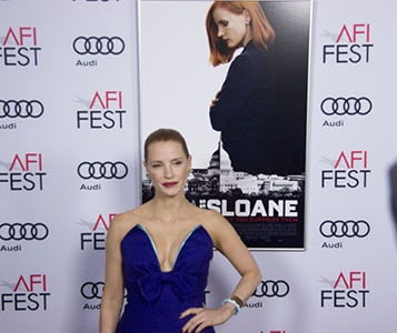 "Photo of All'Afi Film Festival, sponsorizzato da Audi, ""Miss Sloane"" – Galleria Fotografica"