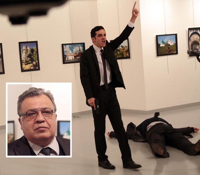 Photo of Flash – Turchia: Assassinato ambasciatore russo. Il killer poliziotto estremista  islamico
