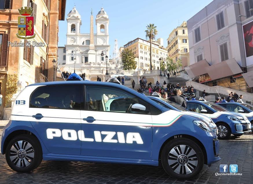Photo of Il centro di Roma sarà vigilato con le nuove e-up! della Volkswagen